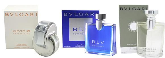 ブルガリの香水各種